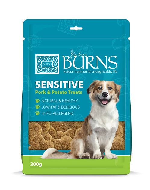 Burns Sensitive Dog Treats 200g