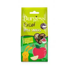 Burgess Apple Snacks 80g