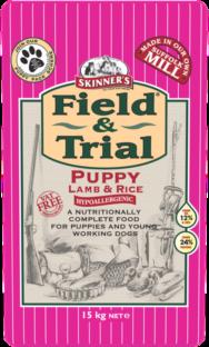 Skinners Field & Trial Puppy Lamb 15kg