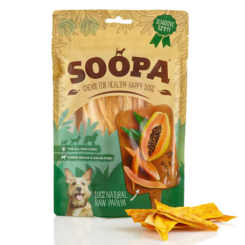 Soopa Papaya Chews 100g