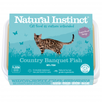 Natural Instinct Country Banquet Fish