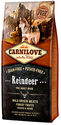 Carnilove Reindeer Adult Dog Food 1.5kg
