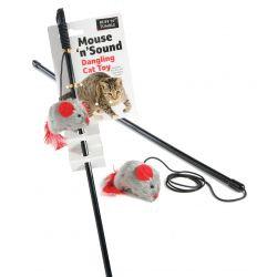 Ruff 'N' Tumble Mouse 'N' Sound Cat Dangler