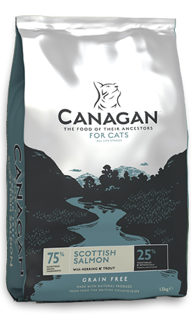 Canagan Cat Food Scottish Salmon 4kg