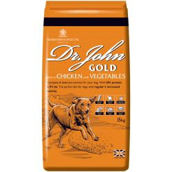 Dr Johns Dog Food Gold 15kg
