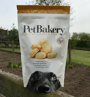 Pet Bakery Cheese Paws 190g