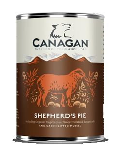 CANAGAN WET DOG FOOD SHEPHERDS PIE 400G x 6