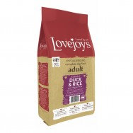 Lovejoys Adult Dry Dog Food with Duck & Rice