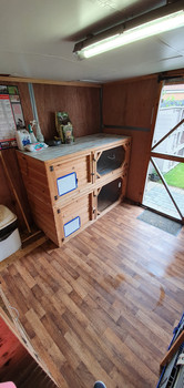 Spacious indoor accommodation