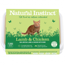 Natural Instinct Lamb & Chicken Cat Food