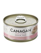 Canagan Wet Cat Food Chicken with Ham 5 x 75g