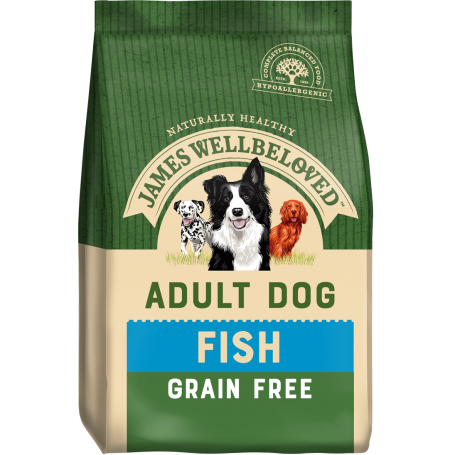 James Wellbeloved Adult Grain Free Fish & Veg 10kg