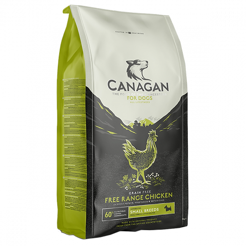 Canagan Small Breed Free Run Chicken Dog Food 2kg