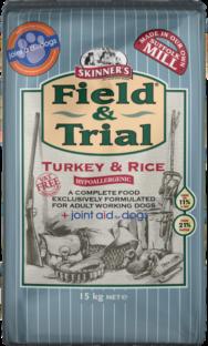 Skinners Field & Trial Turkey & Rice 15kg