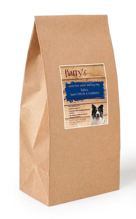 Harry's Grain Free Light/Senior Turkey with Sweet Potato & Cranberry 15kg