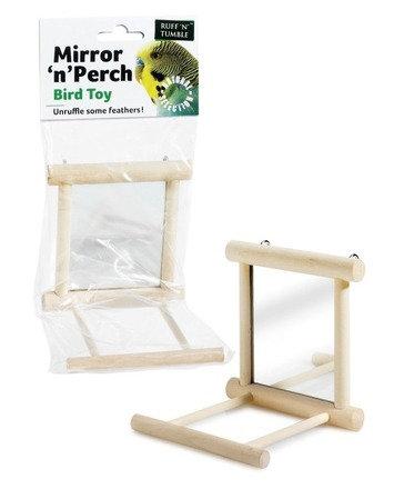Mirror 'N' Perch Bird Toy