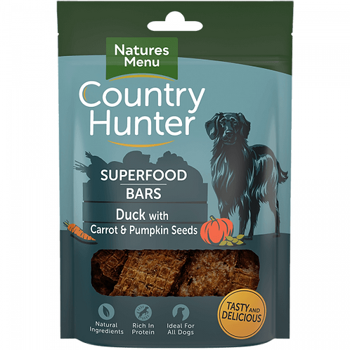 Country Hunter Superfood Bar Duck 100g