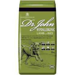Dr Johns Hypoallergenic Dog Food Lamb with Rice 15kg