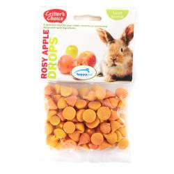 Critters Choice Rosy Apple Drops 75g