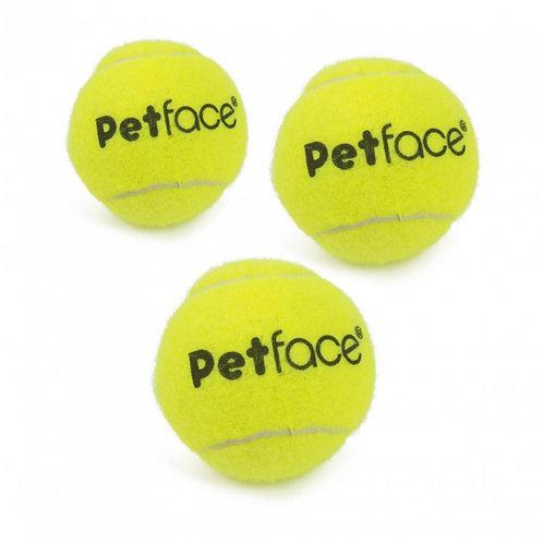 Petface Tennis Balls x 3