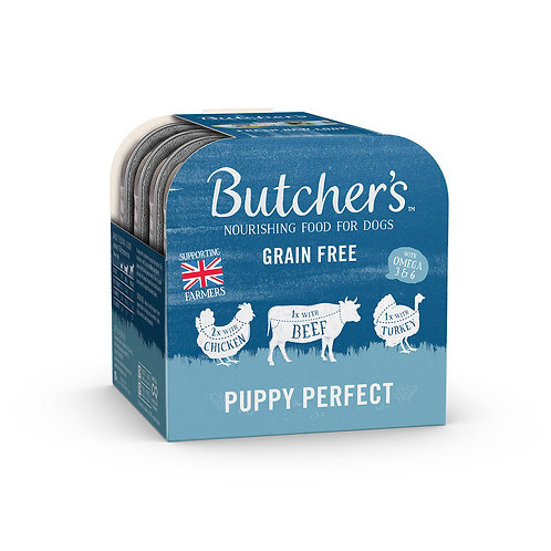 Butchers Puppy Perfect Wet Dog Food Foil