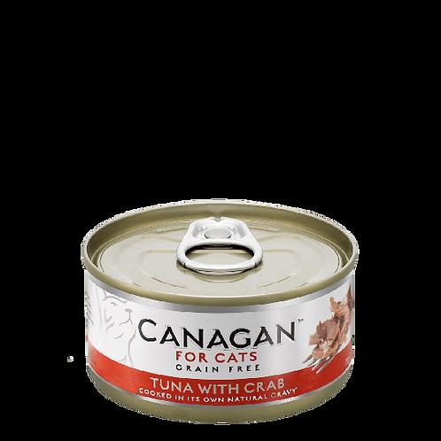 Canagan Wet Cat Food Tuna With Crab