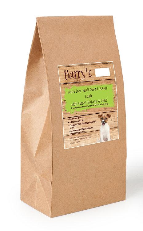 Harry's Grain Free Dog Food Small Breed Lamb with Sweet Potato & Mint 6kg
