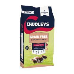 Chudleys Grain Free Dog Food Chicken & Vegetables 15kg