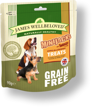 James Wellbeloved Crackerjacks Turkey Small GF 90g