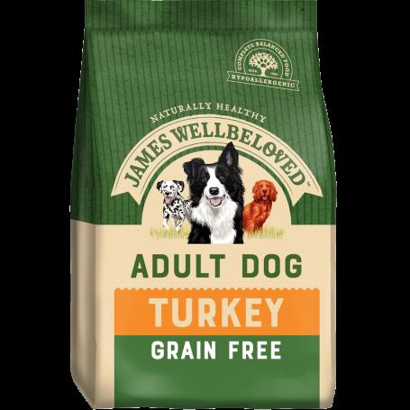 James Wellbeloved Adult Grain Free Turkey & Veg 1.5kg