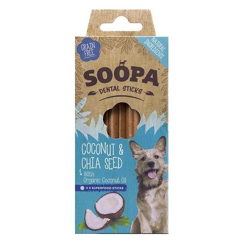 Soopa Dental Sticks Coconut (4pk)