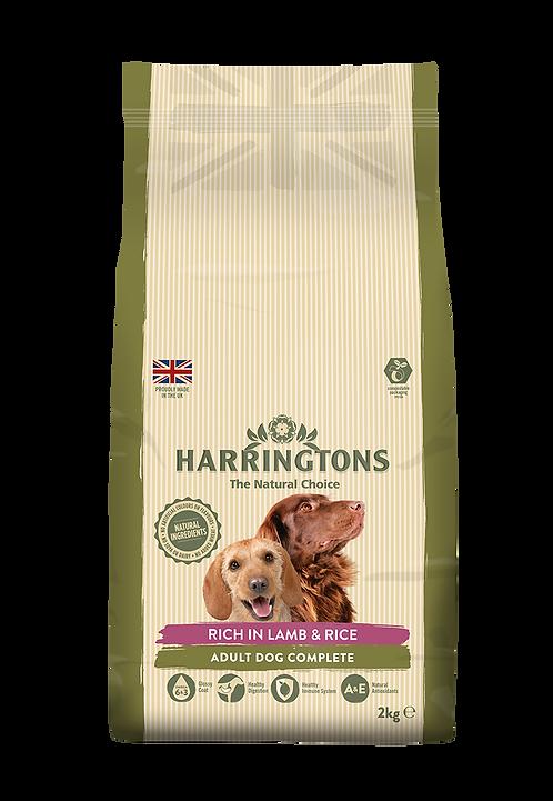 Harringtons Dog Food Lamb & Rice