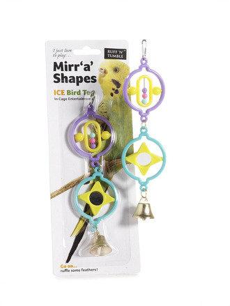 Mirr 'A' Shapes Bird Toy