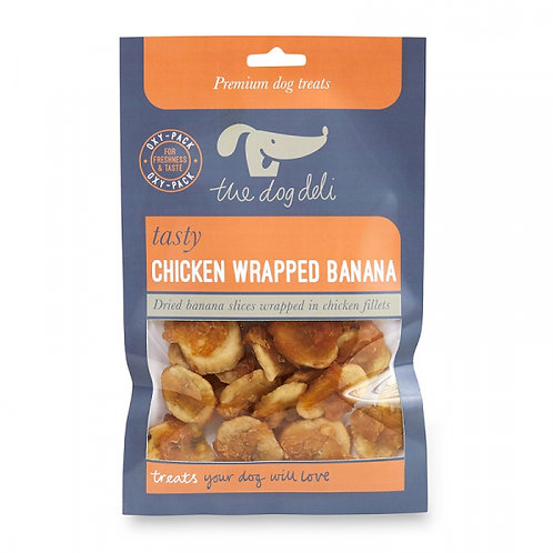 Dog Deli Chicken Wrapped Banana 100g