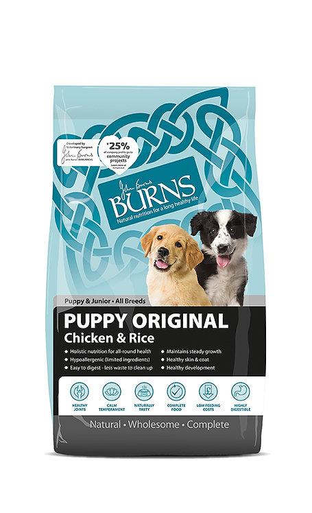 Burns Puppy Original Chicken Dog Food 6kg
