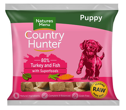 Country Hunter Raw Nuggets Puppy 1kg