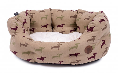 Country Dog Deli Oval Bed