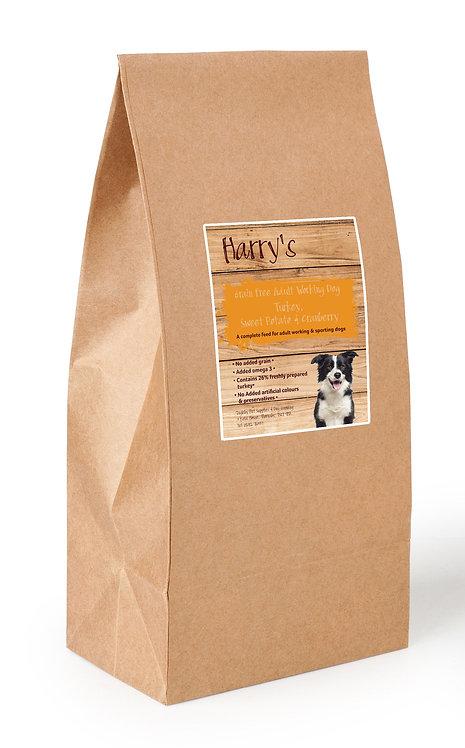 Harry's Grain Free Dog Food Turkey with Sweet Potato & Cranberry 15kg