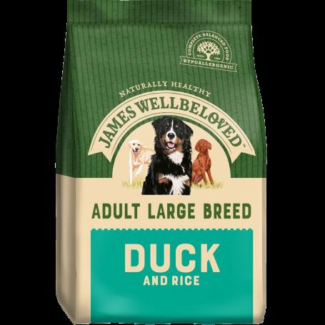 James Wellbeloved Large Breed Duck & Rice Adult 15kg