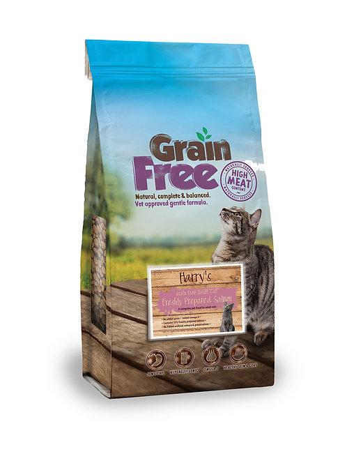 Harry's Grain Free Salmon Adult Cat Food 7.5kg