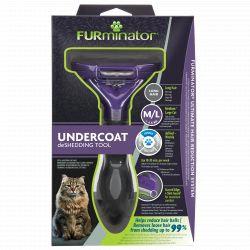 FURminator Medium / Long Hair Cat