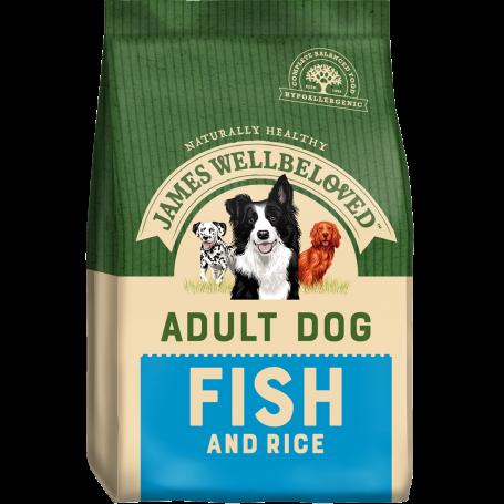 James Wellbeloved Adult Fish & Rice 7.5kg