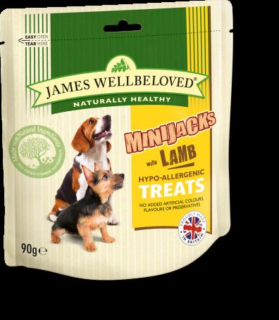 James Wellbeloved Crackerjacks Lamb Small 90g