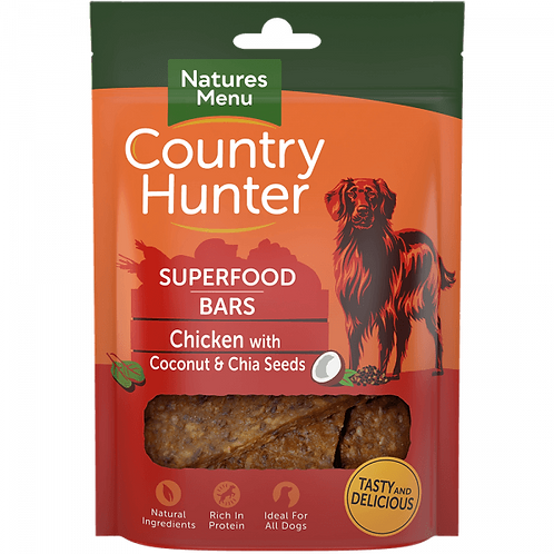 Country Hunter Superfood Bar Chicken 100g