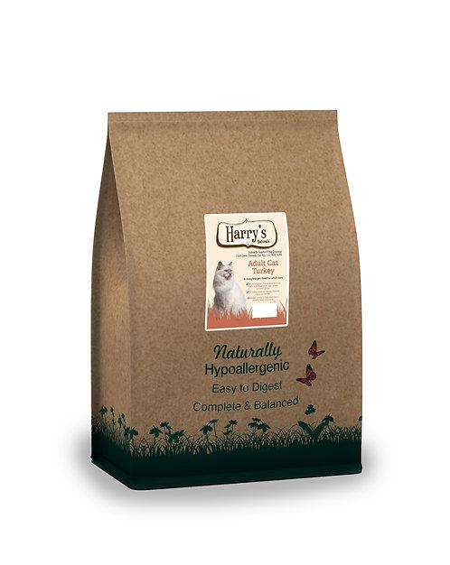 Harry's Naturals Hypoallergenic Turkey & Rice Adult Cat Food 2kg