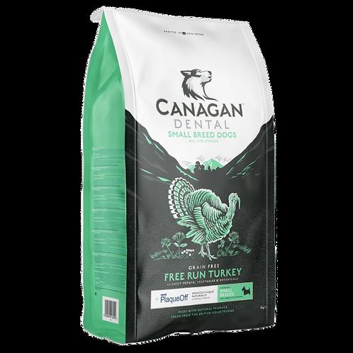 Canagan Small Breed Free Run Turkey Dental 2kg