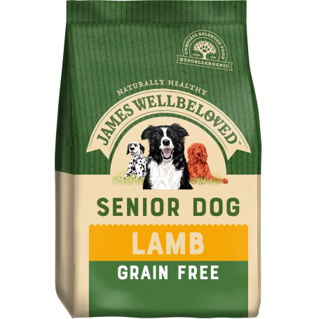 James Wellbeloved Senior Grain Free Lamb & Veg 1.5kg