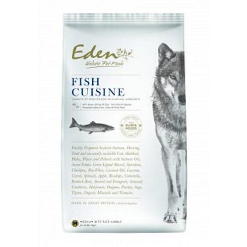 Eden 80/20 Small Bite Dog Food Fish Cuisine 12kg