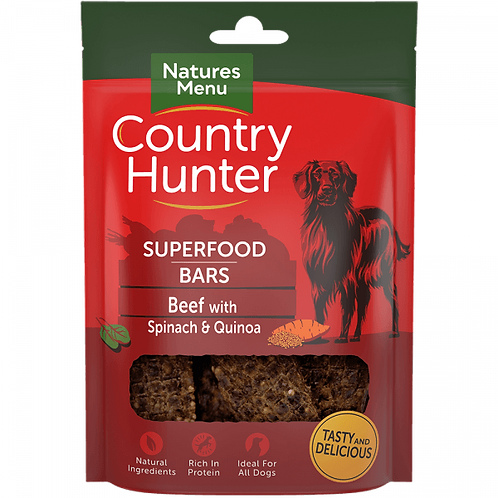 Country Hunter Superfood Bar Beef 100g