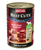 Animonda Adult Dog Best Cuts Tin Multi Meat Cocktail 6 x 400g